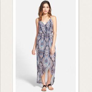 Lush Tulip Hem Maxi Dress
